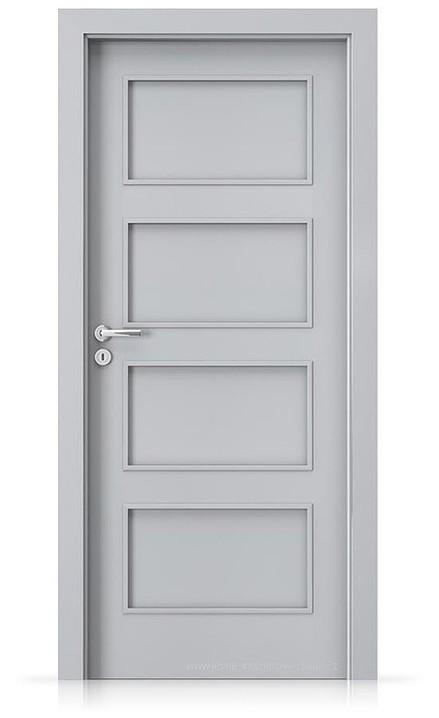 Interiérové dveře Porta FIT H.0 Laminát CPL HQ ŠEDÁ