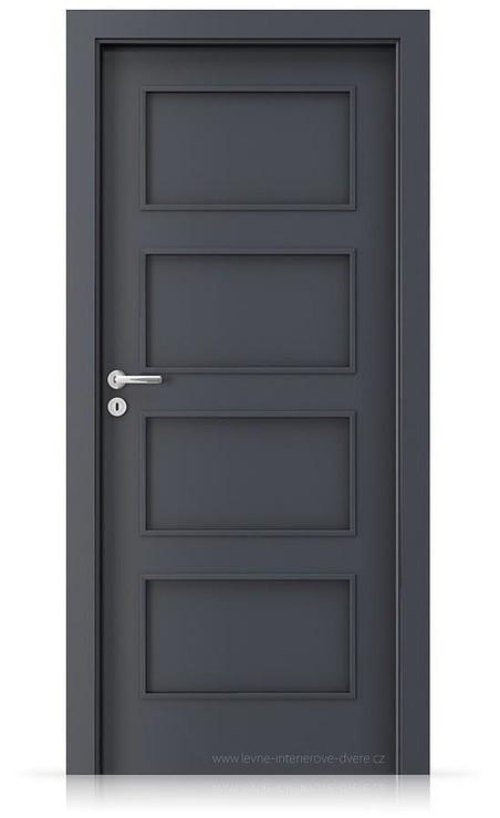 Interiérové dveře Porta FIT H.0 Laminát CPL HQ ANTRACIT HPL/CPL