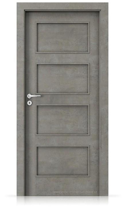 Interiérové dveře Porta FIT H.0 Laminát CPL HQ BETON SVĚTLÝ