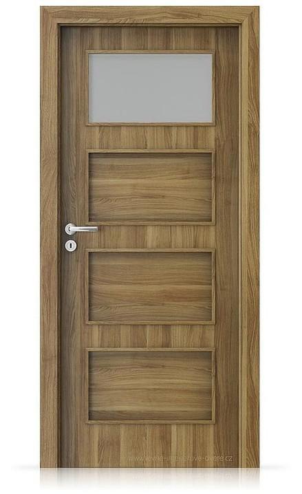 Interiérové dveře Porta FIT H.1 Portasynchro 3D AKÁT MEDOVÝ