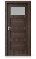 Interiérové dveře Porta FIT H.1 Portaperfect 3D DUB HAVANA
