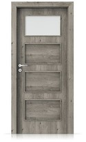 Interiérové dveře Porta FIT H.1 Portaperfect 3D DUB SIBIŘSKÝ