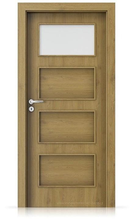 Interiérové dveře Porta FIT H.1 Portaperfect 3D DUB PŘÍRODNÍ