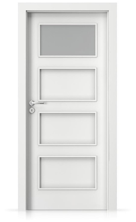 Interiérové dveře Porta FIT H.1 Laminát CPL HQ BÍLÁ