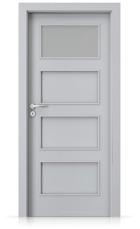Interiérové dveře Porta FIT H.1 Laminát CPL HQ ŠEDÁ