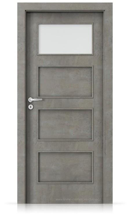 Interiérové dveře Porta FIT H.1 Laminát CPL HQ BETON SVĚTLÝ