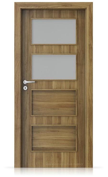 Interiérové dveře Porta FIT H.2 Portasynchro 3D AKÁT MEDOVÝ