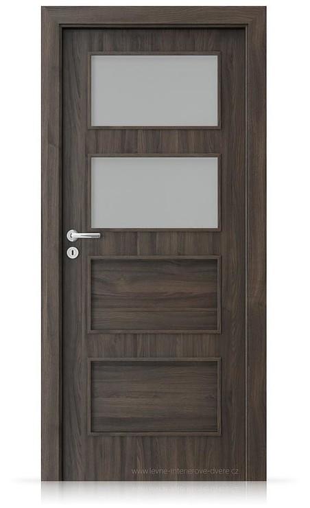 Interiérové dveře Porta FIT H.2 Portasynchro 3D DUB TMAVÝ