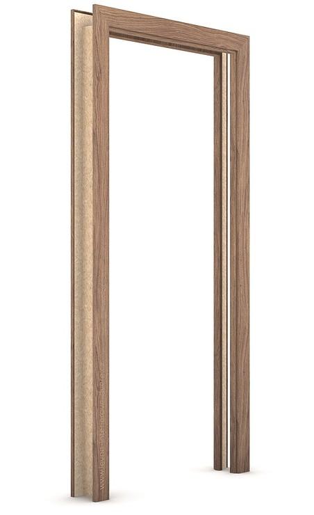Zárubeň pro posuvné dveře do pouzdra (do zdi) KOMPAKT Portaperfect 3D DUB KALIFORNIA