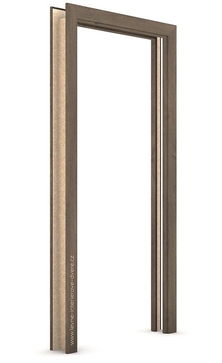 Zárubeň pro posuvné dveře do pouzdra (do zdi) KOMPAKT Portaperfect 3D DUB JIŽNÍ