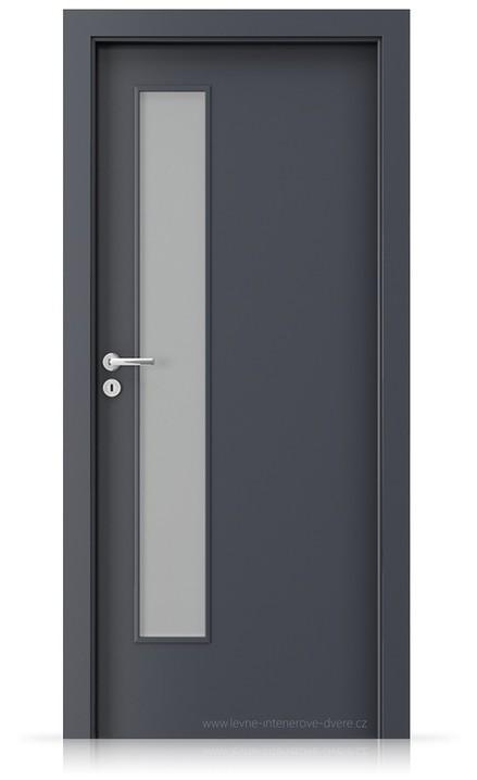 Interiérové dveře Porta FIT I.1 Laminát CPL HQ ANTRACIT HPL/CPL
