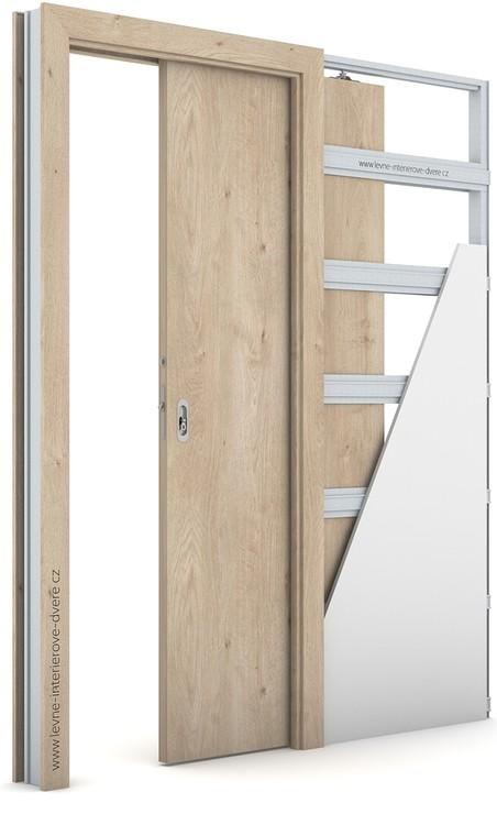 Interiérové dveře Porta DECOR P Portaperfect 3D DUB KLASICKÝ