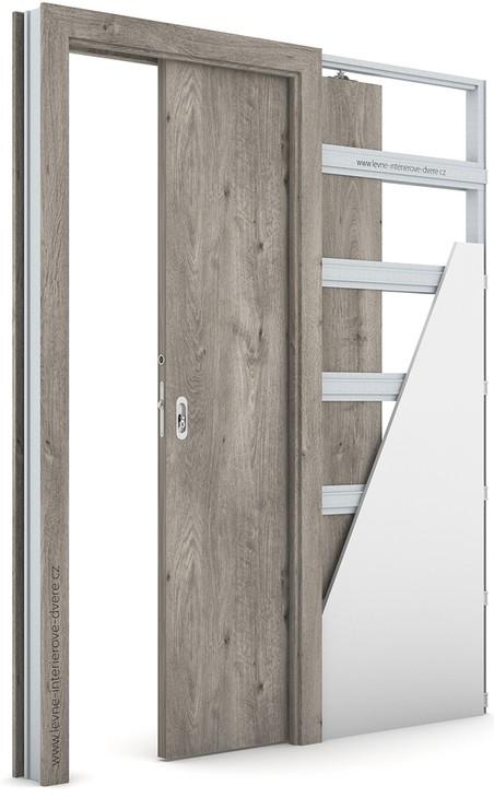 Interiérové dveře Porta DECOR P Portaperfect 3D DUB SIBIŘSKÝ