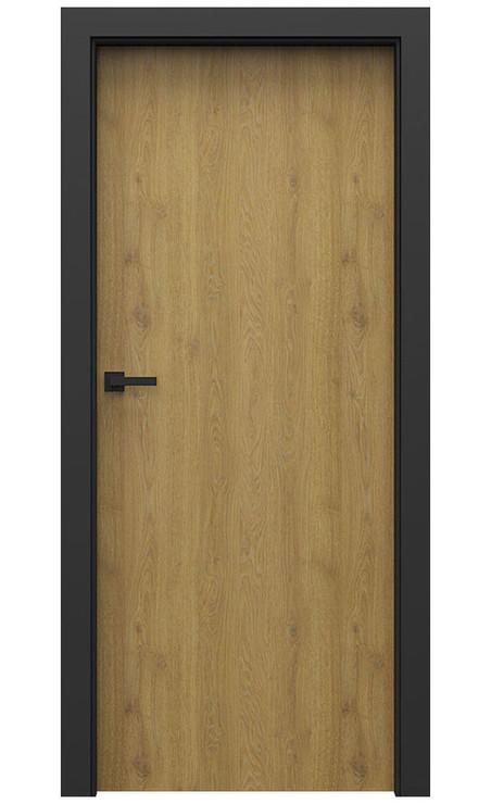 AKCE! Interiérové dveře Porta CPL 1.1 CPL HQ DUB PŘÍRODNÍ zárubeň CPL HQ ČERNÁ