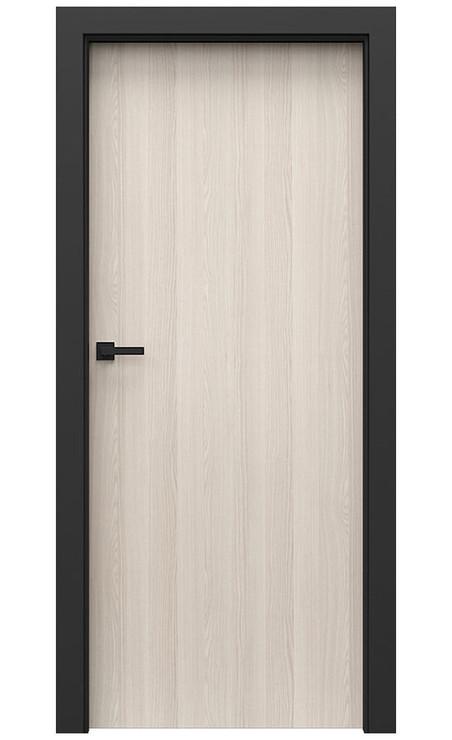 AKCE! Interiérové dveře Porta CPL 1.1 CPL HQ OŘECH BĚLENÝ zárubeň CPL HQ ČERNÁ