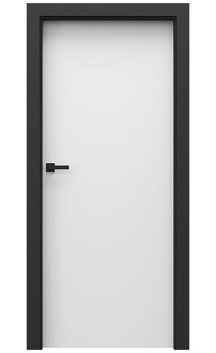 AKCE! Interiérové dveře Porta CPL 1.1 CPL HQ BÍLÁ zárubeň CPL HQ ČERNÁ
