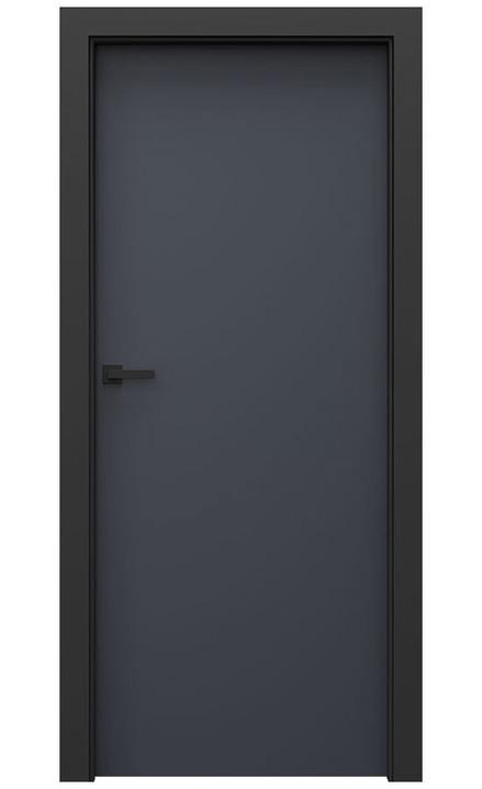 AKCE! Interiérové dveře Porta CPL 1.1 CPL HQ ANTRACIT HPL/CPL zárubeň CPL HQ ČERNÁ
