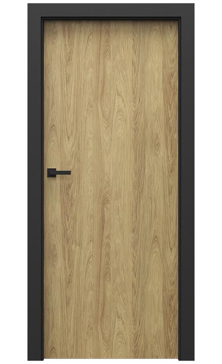 AKCE! Interiérové dveře Porta CPL 1.1 CPL HQ HIKORA PŘÍRODNÍ zárubeň CPL HQ ČERNÁ