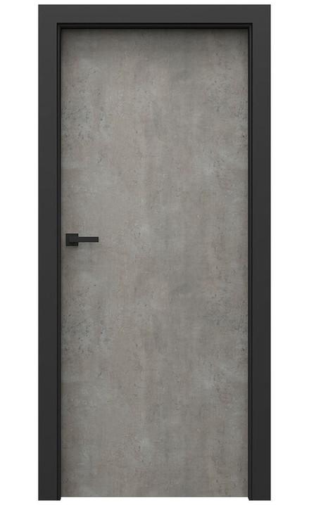 AKCE! Interiérové dveře Porta CPL 1.1 CPL HQ BETON SVĚTLÝ zárubeň CPL HQ ČERNÁ