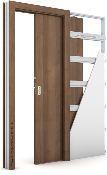 Interiérové dveře Porta DECOR P Portadecor OŘECH