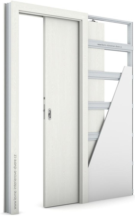 Interiérové dveře Porta DECOR P Portasynchro 3D WENGE WHITE