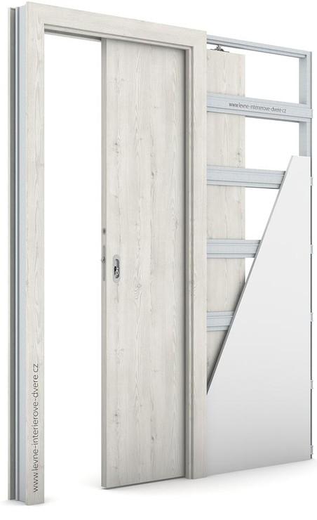 Interiérové dveře Porta DECOR P Portasynchro 3D BOROVICE NORSKÁ