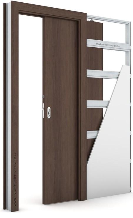 Interiérové dveře Porta DECOR P Portaperfect 3D DUB HAVANA