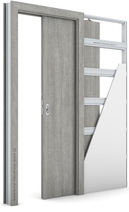 Interiérové dveře Porta DECOR P Portalamino DUB STŘÍBRNÝ