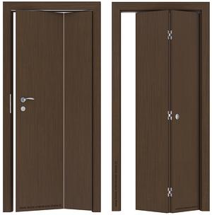 Skládací dveře