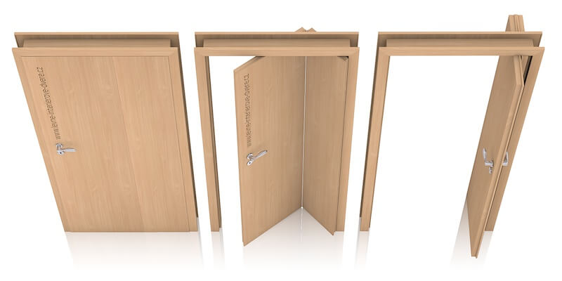 Skládací dveře ALFA