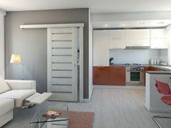 Systém pro posuvné dveře na stěnu (zeď) PORTA