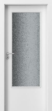 Interiérové dveře MINIMAX D Lak Standard BÍLÝ