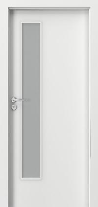 Interiérové dveře MINIMAX L Lak Standard BÍLÝ