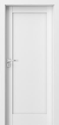 Interiérové dveře Porta GRANDE A.0 Akrylová barva UV BÍLÁ