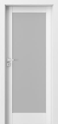 Interiérové dveře Porta GRANDE A.1 Akrylová barva UV BÍLÁ