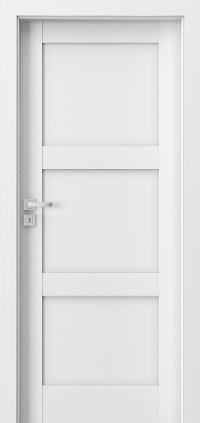 Interiérové dveře Porta GRANDE B.0 Akrylová barva UV BÍLÁ