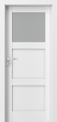 Interiérové dveře Porta GRANDE B.1 Akrylová barva UV BÍLÁ