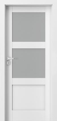 Interiérové dveře Porta GRANDE B.2 Akrylová barva UV BÍLÁ