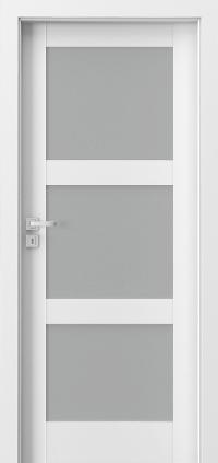 Interiérové dveře Porta GRANDE B.3 Akrylová barva UV BÍLÁ