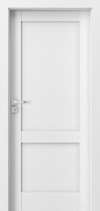 Interiérové dveře Porta GRANDE C.0 Akrylová barva UV BÍLÁ