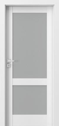 Interiérové dveře Porta GRANDE C.1 Akrylová barva UV BÍLÁ