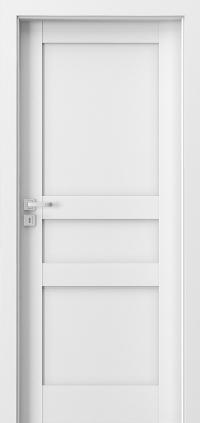 Interiérové dveře Porta GRANDE D.0 Akrylová barva UV BÍLÁ