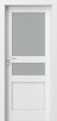 Interiérové dveře Porta GRANDE D.1 Akrylová barva UV BÍLÁ