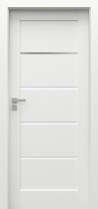 Interiérové dveře Porta GRANDE G.1 Akrylová barva UV BÍLÁ