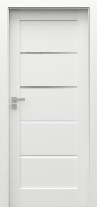 Interiérové dveře Porta GRANDE G.2 Akrylová barva UV BÍLÁ