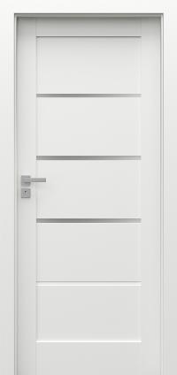 Interiérové dveře Porta GRANDE G.3 Akrylová barva UV BÍLÁ