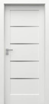 Interiérové dveře Porta GRANDE G.4 Akrylová barva UV BÍLÁ