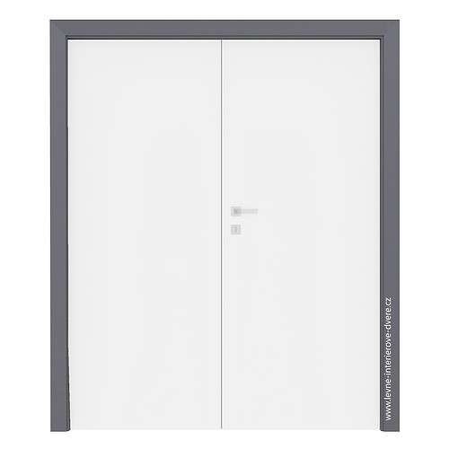Levé otočné dveře